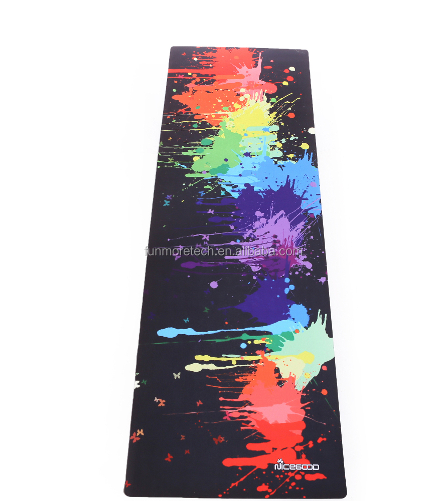 Oem Quality Custom Printed Yoga Mat,Eco Friendly Natural