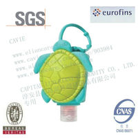 30ml Hand Sanitizer With Turtle Shape Silicon Holder