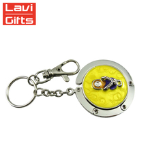 Cheap Custom Design Metal Purse Hanging Key Chain