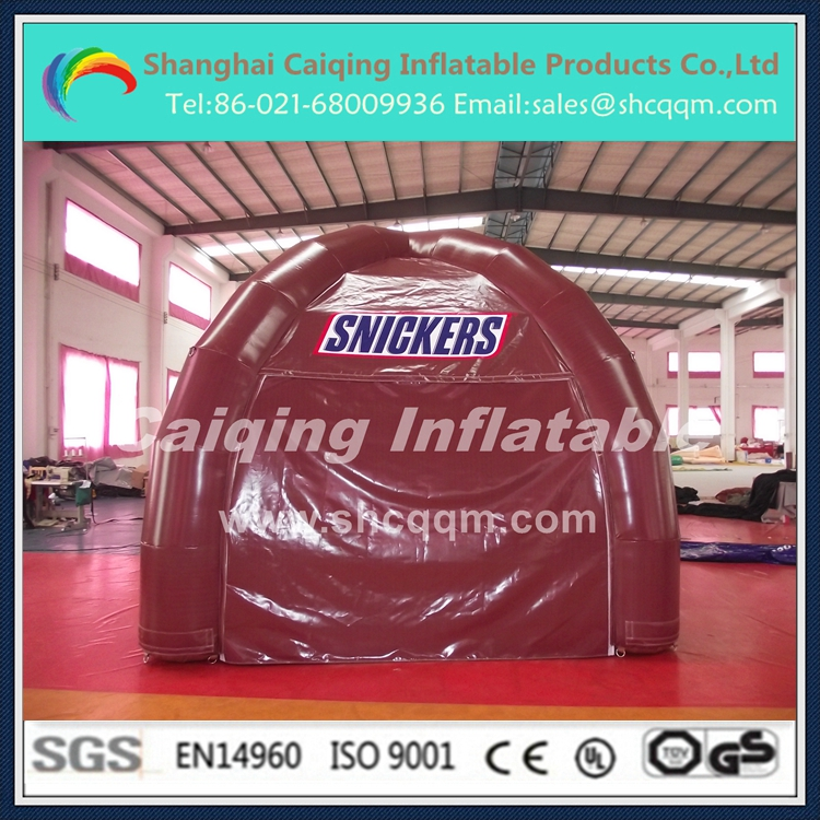 inflatable small tent for promotion/inflatable adveritising tent/inflatable promotional tent for sale