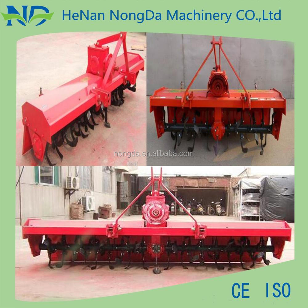 farm machinery mini type used rotary tillers