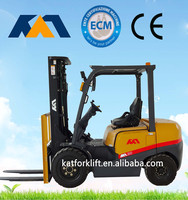 New model 2.5ton mini forklift truck,powevered hydraulic carrier with CE certification