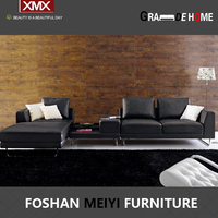 hotel furniture leather sofa 2917 A+ E +G