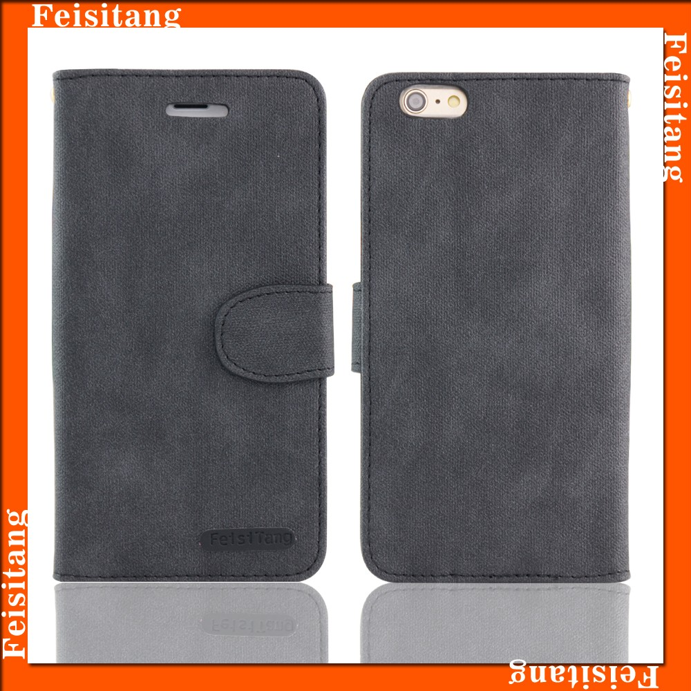 Mobile phone PU leather case wallet case for iphone6 plus