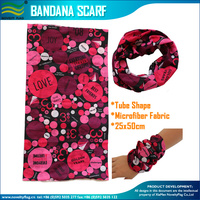 Fast delivery Microfiber Polyester Multifunctional Seamless Bandana scarf