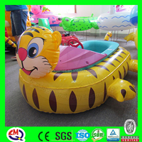 Aqua used water park rides bumper boat for sale