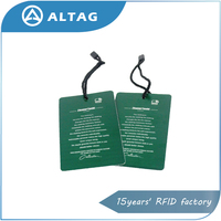 OEM customized printing UHF rfid clothing labels for inventory management