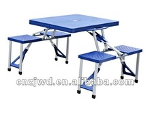outdoor plastic picnic folding table