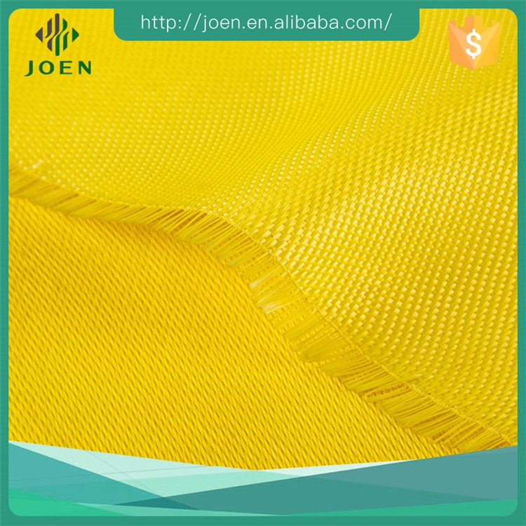 yellow color double sides fiberglass prepreg insulation cloth with silicone, PU, crylic acid coating