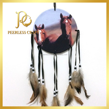 Wall Hanging Craft Horse Painting Wholesale Dream Catcher