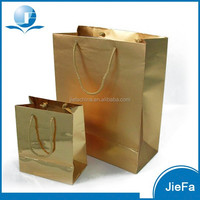 High Quality International Gold Paper Bags