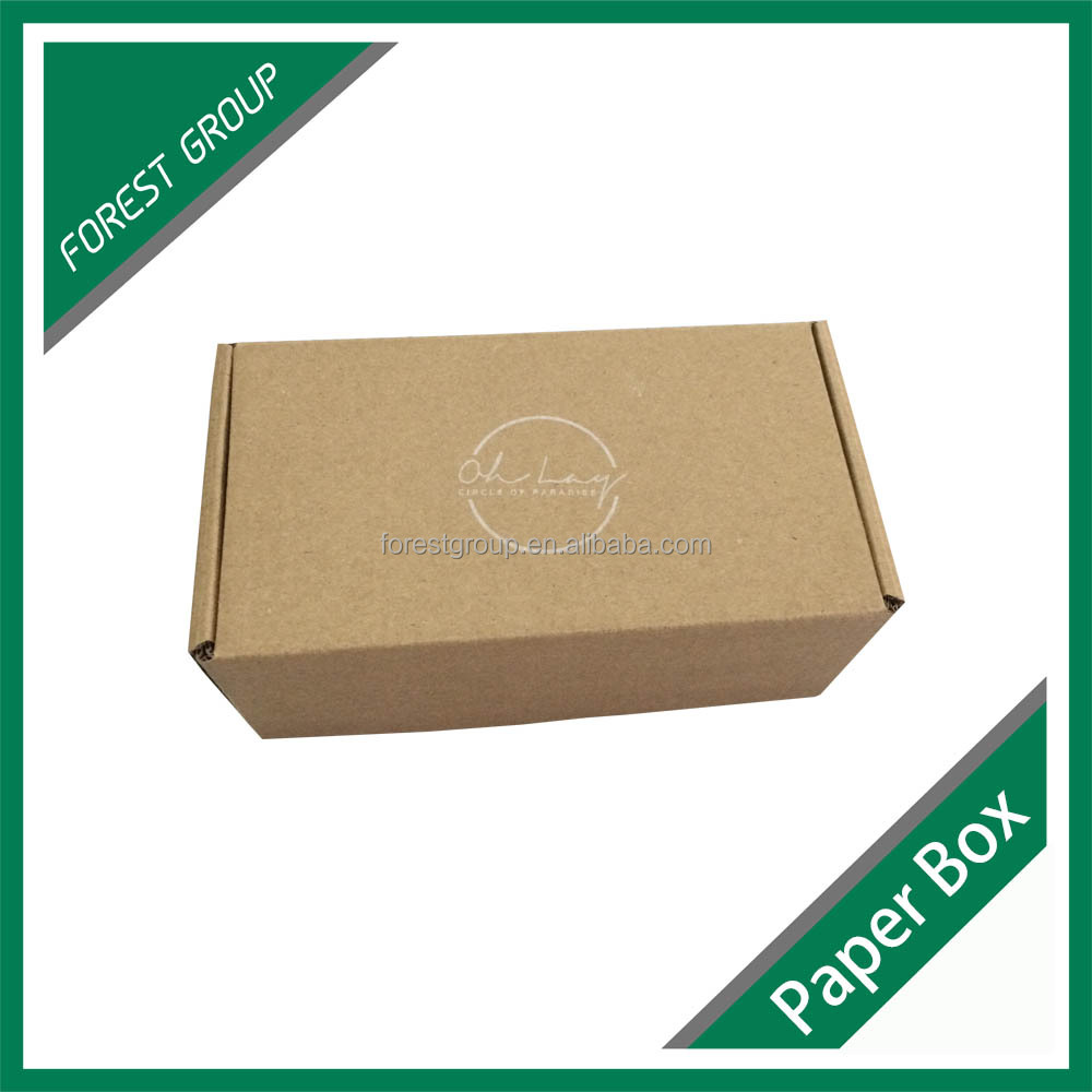 Alibaba hot sale cheap brown craft small paper packaging <strong>box</strong>