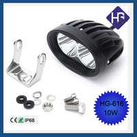 Wholesale Motorcycle Off Road 4 inch 10W rechargeable automobile led driving light
