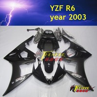 High Quality ABS Injection ABS body parts for YAMAHA YZF R6 03