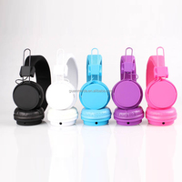 Free sample high quality colorful custom printed headphones from shenzhen factory