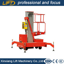 Good quality one man elevator aluminum lift with low price