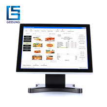 Multi touch capacitivo lcd touch screen monitor a led commerciale