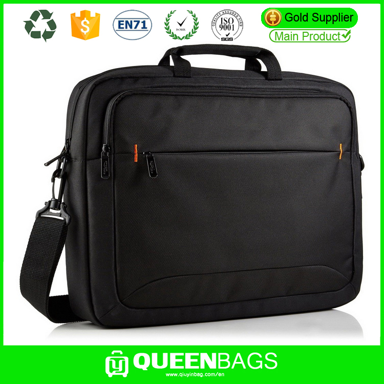 custom lightweight high quality nylon fancy business laptop bag