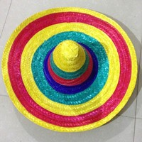 Cheap Stock High Quality sombrero mexican men straw hat