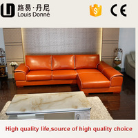 Reasonable price hot selling nappa leather sofa