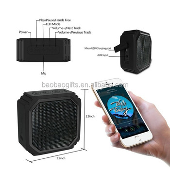 Kenya outdoor bluetooth good sound movable woofer speaker with led light