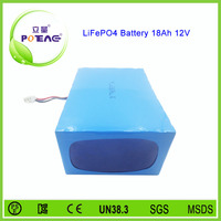 12v nominal voltage 18ah deep cycle lifepo4 battery for electric wheelchair