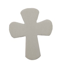 Popular customized color carved wood cross