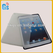 Smart Cover Companion Slim Transparent TPU Plastic Back Cover Case For iPad 5 Tablet
