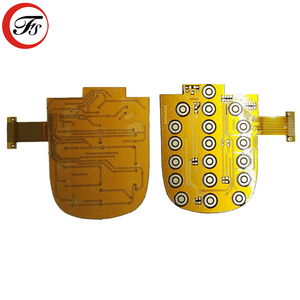 Custom Made Gold Plating Flexible Pcb Connector Fpc Manufacturer