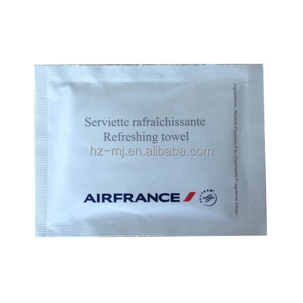 Wet strength paper material single wipes in France airplan
