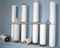 minipore PP pleated filter cartridge/ PP pleated filter cartrige