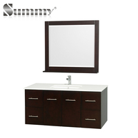 New design Plywood vanity with drawers 48 inch Bathroom Cabinet