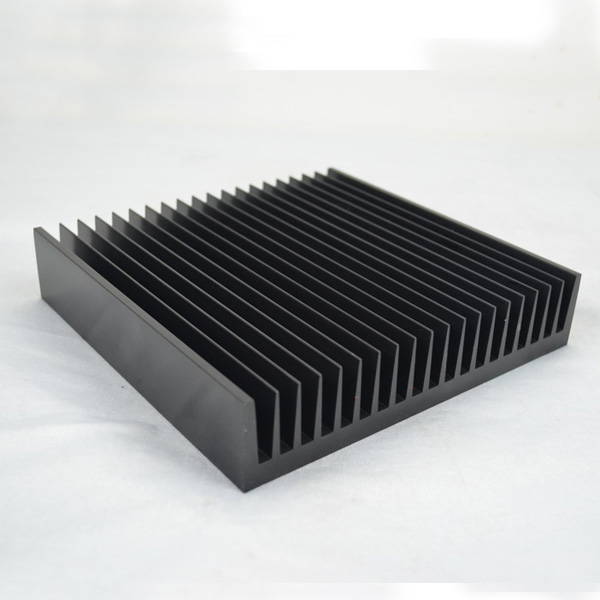 Anodized flexible <strong>aluminum</strong> extrusion profile heatsink
