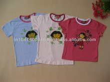 Round neck kids wear