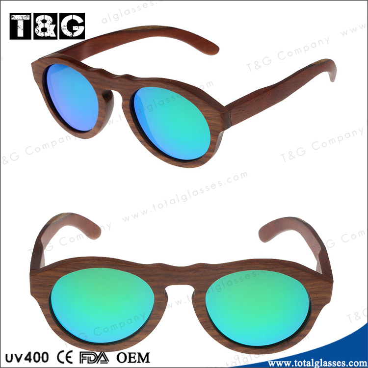Hot sell <strong>bamboo</strong> and wood floating polarized lens sunglasses