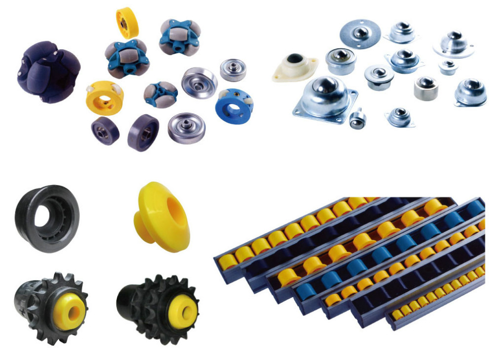 plastic conveyor ball transfer unit pu castor messing castor recessed furniture casters press fit ball transfer units