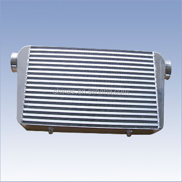 High Efficiency delta fin WRX 200x510x110mm aluminum turbo intercooler