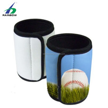Promotional Cheap Custom Logo Printed neoprene insulated fastener single can cooler