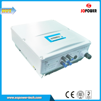 Grid Connected MPPT Control DC AC Inverter 2000 Watt 230V AC Single Phase Output