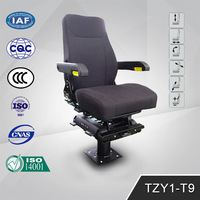 TZY1-T9 Driver Passenger Motorcycle Backrests Mustang Seats