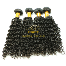 China Best Hair Vendor Natural Remy Human Hair Weave Virgin Brazilian Jerry Curl Hair Weave