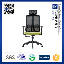 high back mesh swivel office chair,adjustable armrest office chair