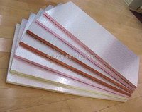 high density fire resistant aluminum foil XPS Foam Duct sheet Panel
