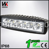 WEIKEN 12V 18w Led Work Light Bar For Off Road/Tractor/Truck/Boat