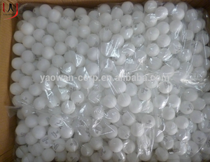 wholesale cheap PP plastic ping pong ball 40mm seamless