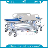 AG-HS021 cold-rolled steel plate ambulance stretcher dimensions