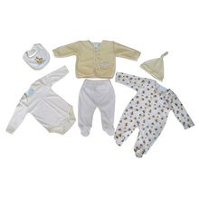 classical 6 pieces newborn baby gift set