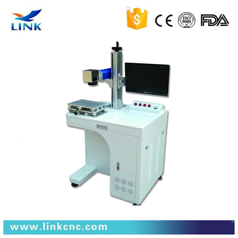 Link fiber machines/<strong>10</strong> <strong>W</strong> / 20 <strong>W</strong> Portable Fiber Laser Marking Machine with Good Marking