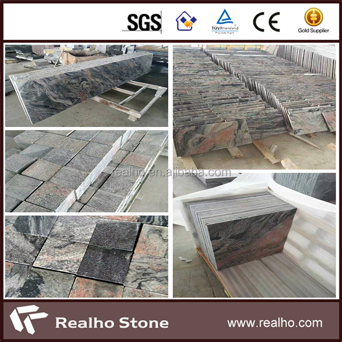 China Popular Multicolor Red Granite For Countertops