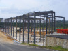 prefabricated steel structure building for Gabon government project